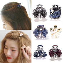 Hairpin top clip with bangs on the back of the head, hair clip, delicate and small clip, female headdress, small hair clip and grabbing card on the top of the head
