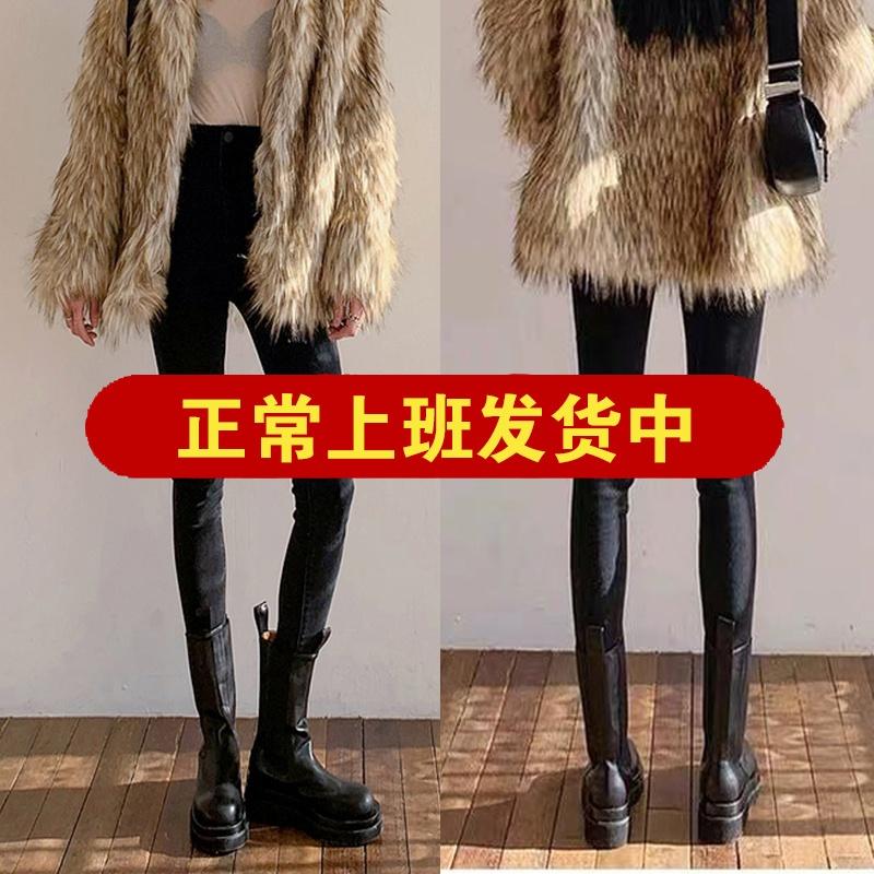 小脚裤紧身显瘦弹力裤子女秋冬