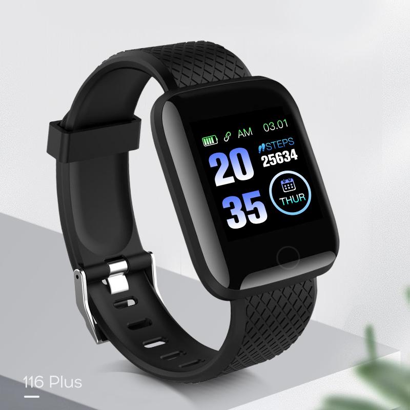 智能运动手环蓝牙心率血压计步器健康男女小米苹果安卓多功能手表