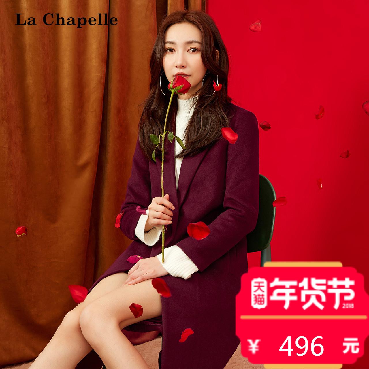 羊毛呢大衣女2017冬装新款韩版长款过膝时尚气质修身显瘦呢子外套