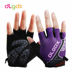 Mountain bike riding gloves half finger male and female outdoor riding accessories sports breathable non-slip bicycle gloves