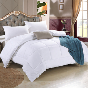 Five-star hotel quilt quilt core pure white fiber quilt single double spring and autumn quilt summer cool quilt hotel bedding