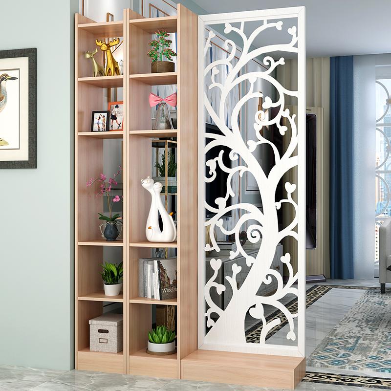 中式屏风隔断客厅卧室玄关现代简约装饰轻奢木质多层板挡风水座屏