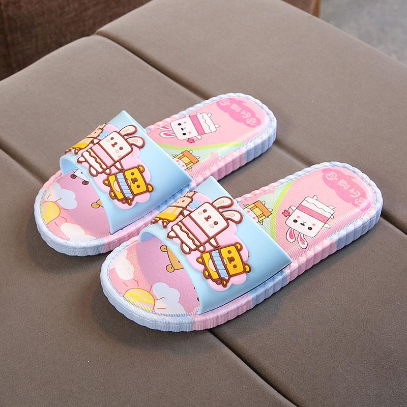 儿童拖鞋女夏室内防滑女童凉拖鞋公主浴室专用小孩亲子中大童男童
