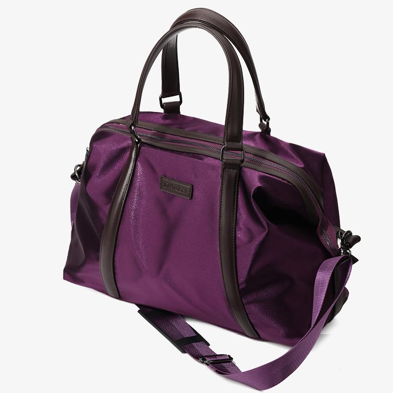 短途小旅行包女手提包包出差便携包轻便大容量行李袋男时尚手拎包
