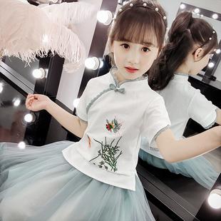 儿童汉服中国风古装超仙襦裙小女
