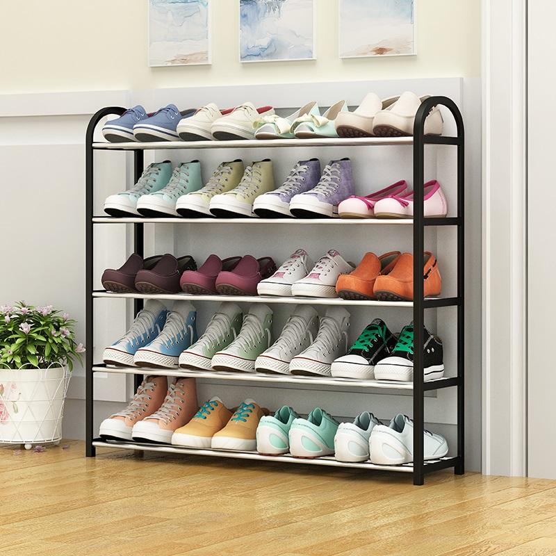 鞋架简易家用经济型宿舍门口防尘收纳鞋柜多层组装鞋架子省空间