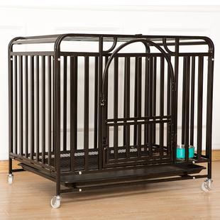 狗笼子大型犬室内中型小型犬带厕所宠物笼子金毛边牧别墅加粗围栏