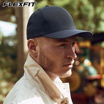 FLEXFIT秋冬帽子男透气速干棒球帽男士钓鱼大头围鸭舌帽女ins潮牌