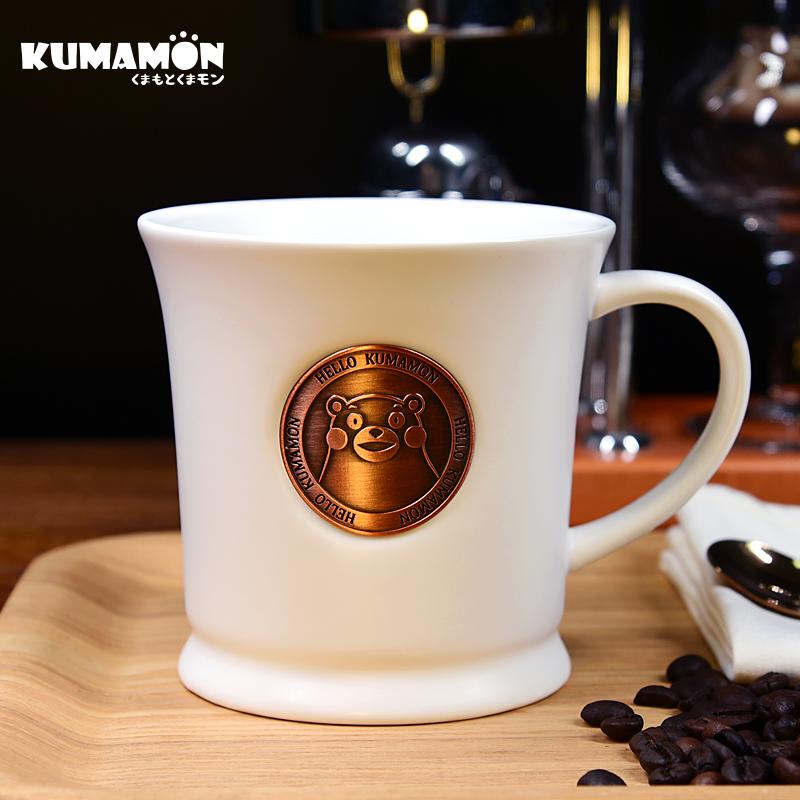 kumamon熊本熊节日礼品创意礼物骨瓷咖啡杯子送女生日礼物女闺蜜