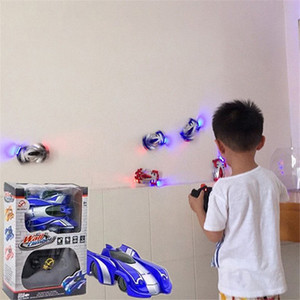 Wall climbing car remote control car on the wall stunt suction wall children's toy boy 4-12 years old rechargeable remote control racing car