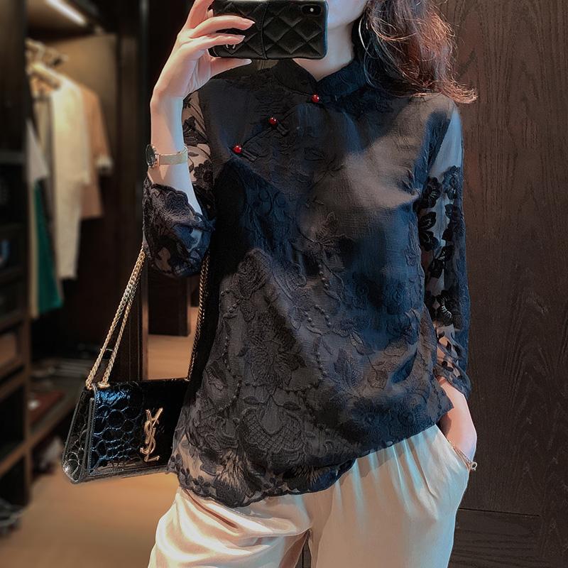 改良汉服女民国风女装中国风中式唐装复古盘扣上衣年轻短款旗袍
