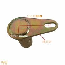 新柄其他机械五金6mm厂家直销带柄页轮砂布磨头抛光百千叶片