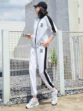 时尚正品牌春秋季运动休闲套装女20ic141新式dy气欧货潮时髦