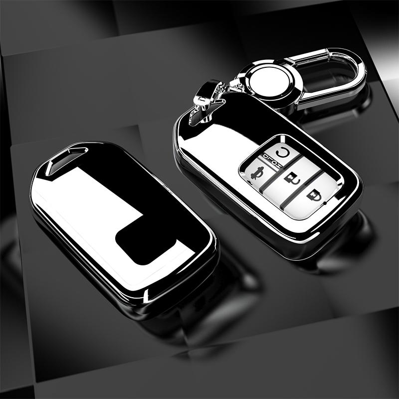 适用于本田十代思域钥匙套10代雅阁壳crv包XRV扣皓影汽车钥匙包