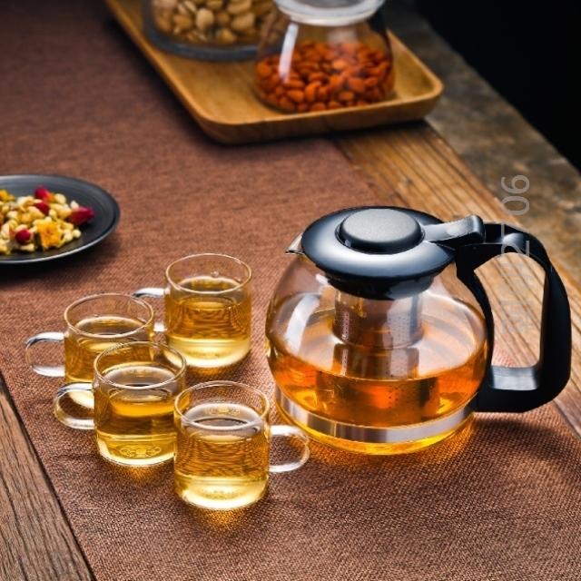 花茶壶小容量迷茶壶套装日式可爱养生壶茶水壶茶杯茶器办公室健康