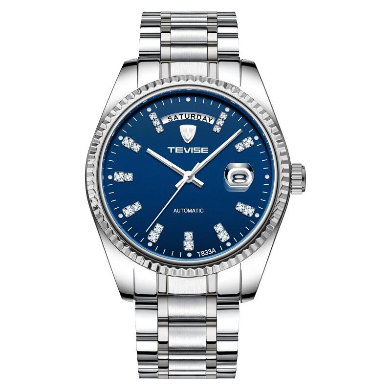 时尚流行女士腕表TEVISE特威斯品牌手表商务休闲防水手表男士全自
