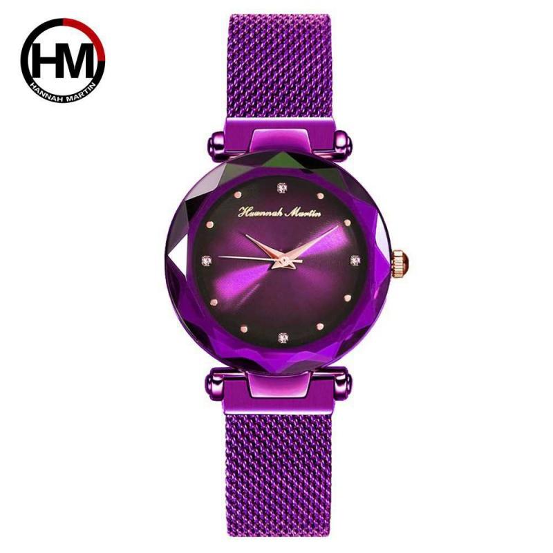 时尚流行女士腕表品牌 日本2035石英机芯女士手表 同款吸磁铁极光