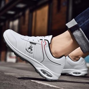 奈客保罗男鞋新款春季气垫鞋男休闲鞋子男潮流韩版运动鞋男士增高