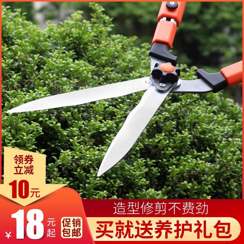 花剪园艺剪刀工具绿化家用修枝剪树枝果树草坪剪大强力绿篱园林剪