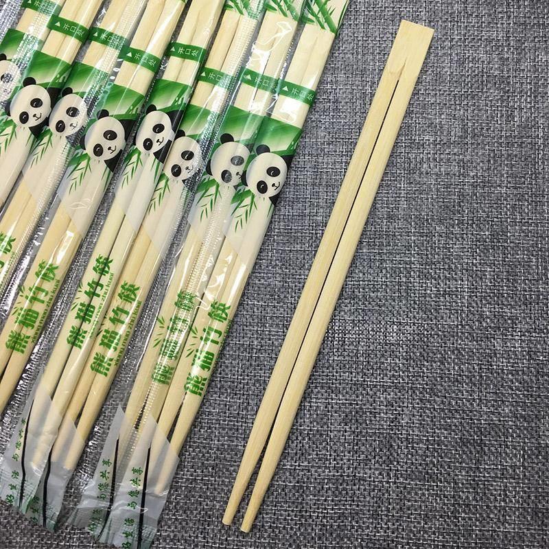 一次性筷子卫生筷天然竹筷方便筷圆筷饭店餐饮打包筷子独立包装