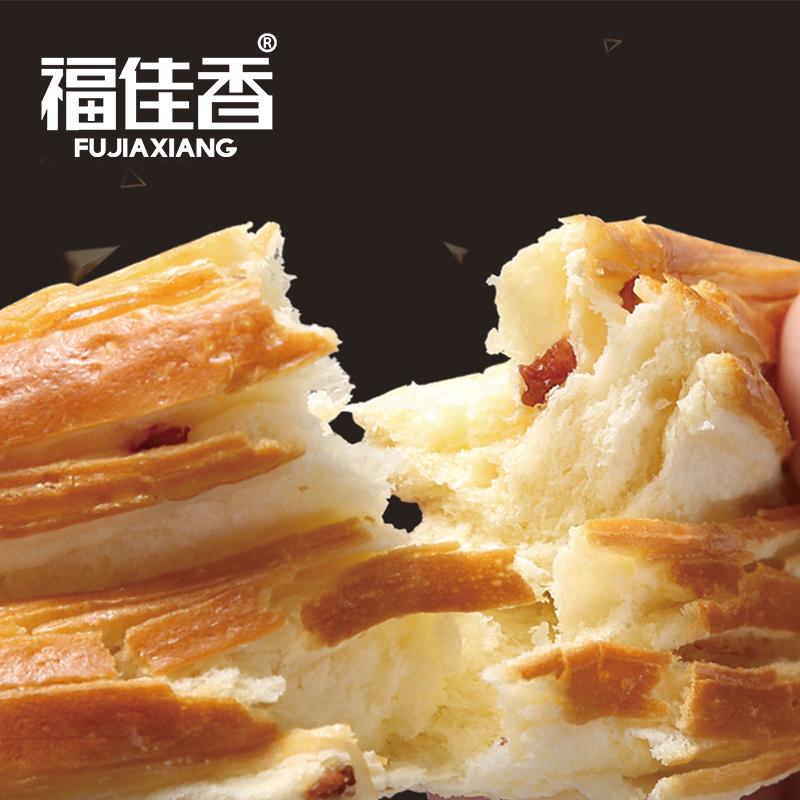 福佳香手撕面包整箱早餐食品即食休闲零食充饥夜宵速食营养奶香味