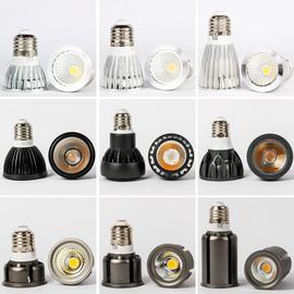 led聚光cob灯杯射灯灯泡e27螺口3w5餐厅筒灯超亮单灯嵌入式暖光源