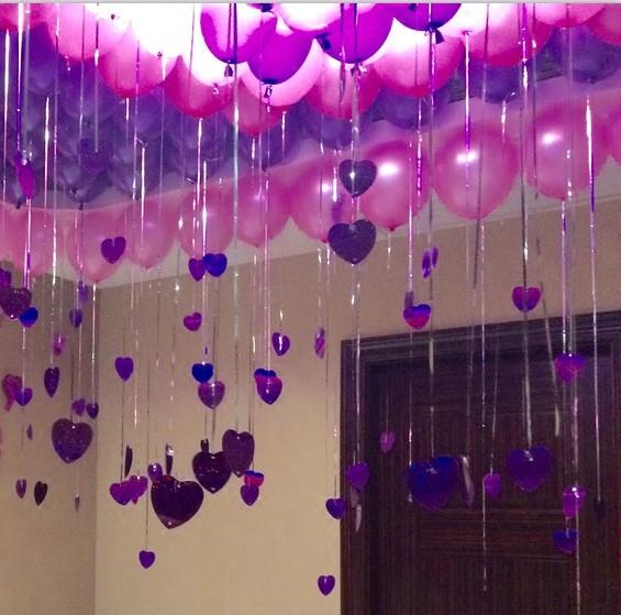 彩色客厅寝室派对生日气球布置儿童背景墙男孩会场party卡通神器
