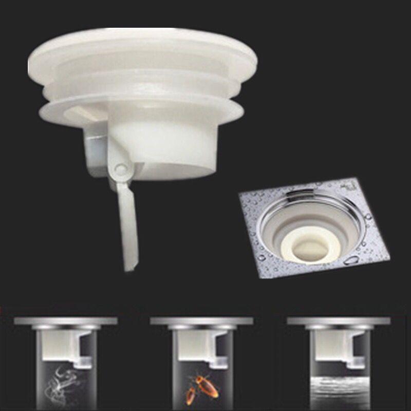 防臭地漏芯防臭内芯卫生间地漏防虫反味下水道防臭器硅胶芯塞盖