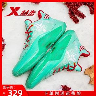 林书豪特步男子篮球鞋2020秋季新款同款配色游云4实战篮球运动鞋图片