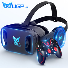 正品ugp游戏机VR眼xk8 虚拟现ur影一体机3d体感手机用设备一套