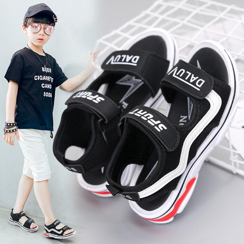 时尚男童凉鞋2020新款儿童休闲凉鞋男童鞋韩版中大童沙滩鞋学生鞋