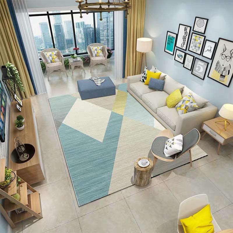 北欧客厅大面积地毯茶几垫家用现代简约卧室满铺房间可爱网红同款