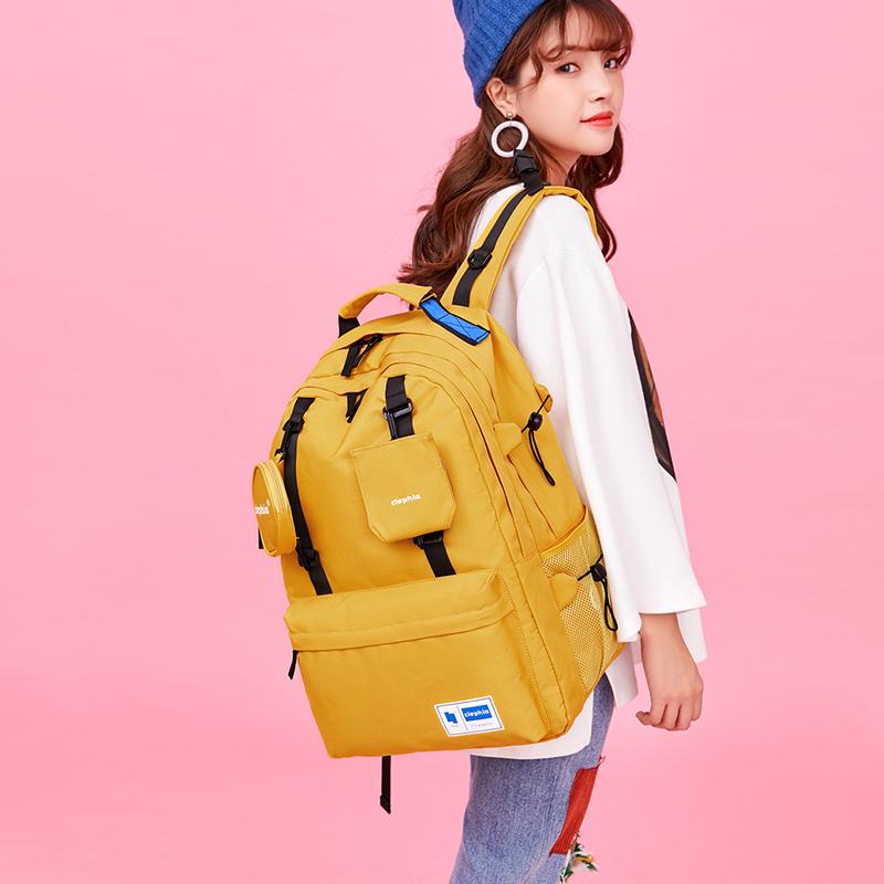 [¥123]背包女双肩包超大容量旅行包多功能出差旅游轻便电脑包大学生书包
