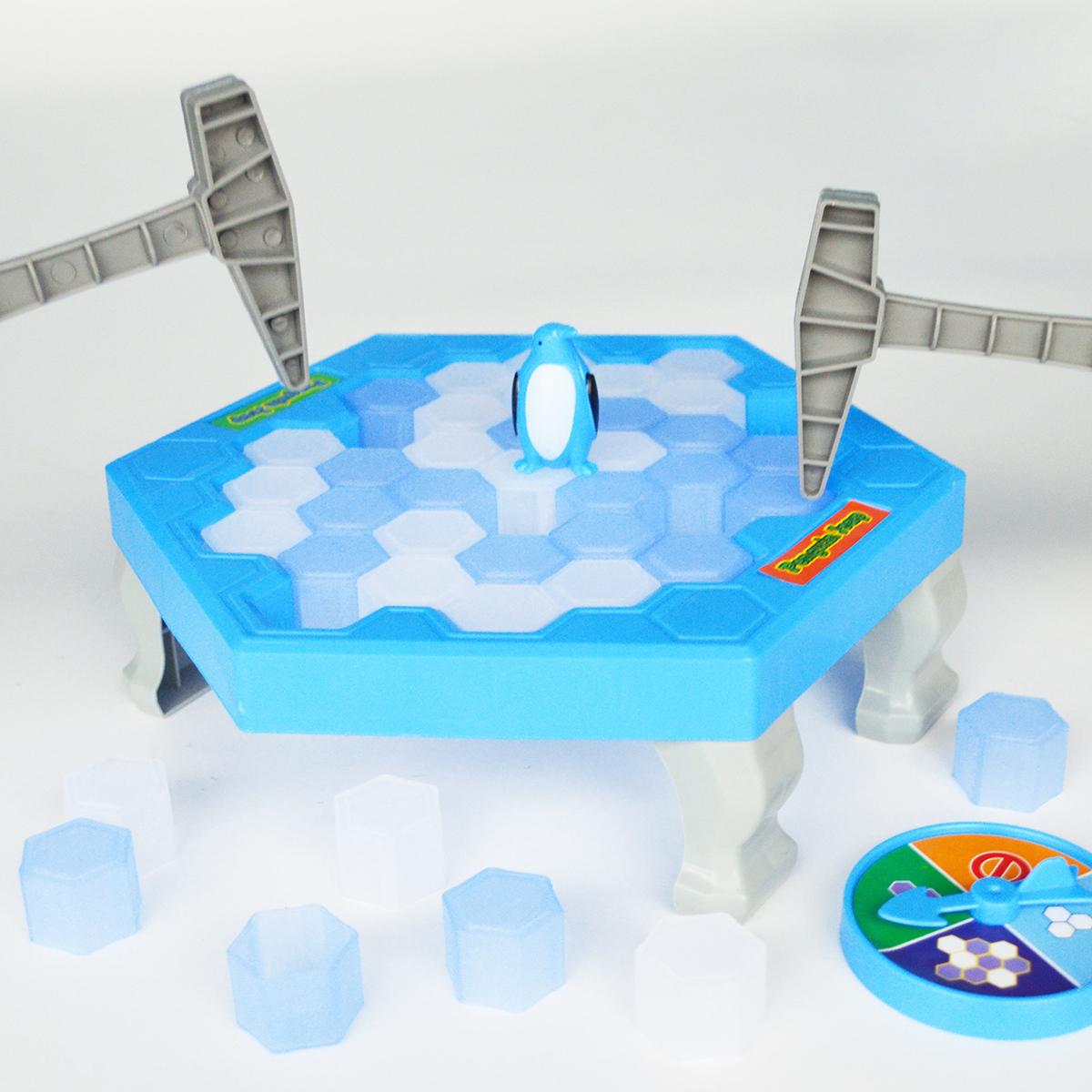拯救破冰企鹅敲冰块亲子游戏减压儿童桌游创意益智抖音小锤子玩具