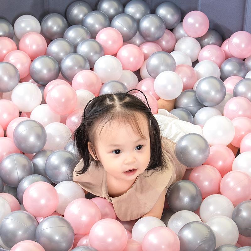海洋球无毒无味玩具婴儿家用波波球室内彩色球宝宝咬儿童加厚球池