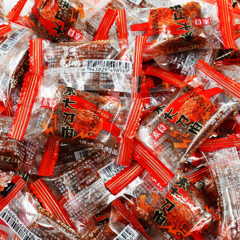 宇仔大刀肉辣条儿时怀旧素零食大礼包麻辣味湖南特产网红小吃整箱