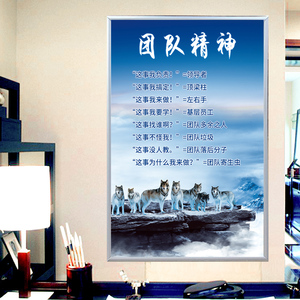 Meeting room company office hanging picture decorative painting rules and regulations customizing the system