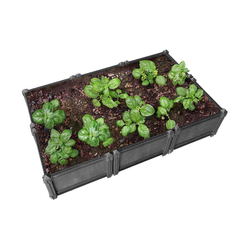 种菜盆家庭蔬菜种植箱阳台菜园长方形室外花箱户外塑脂庭院花盆