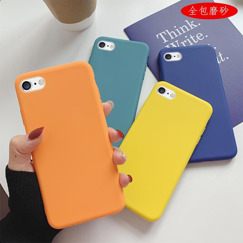 苹果6手机壳iphone6防摔4.7寸IP6s保护套。创意ipone6s卡通可爱A1589清新a1549个性平果六lphone6纯色A1586