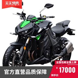 新品嘉爵N19大蟒蛇双缸400国四水冷电喷跑车机车摩托车整车可上牌