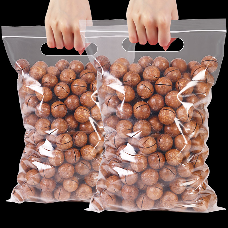 新货夏威夷果500g散装奶油味夏果称斤整箱5斤坚果干果孕妇零食原
