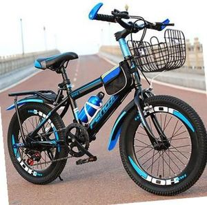 Ten-year-old long folding bicycle ultra-light portable 24 inch large, middle and primary school men and women crash-proof vehicle durable