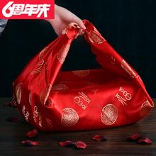 Large capacity children's big red wedding with wrappers, leather goods, lovely wrappers, wrappers, wedding size