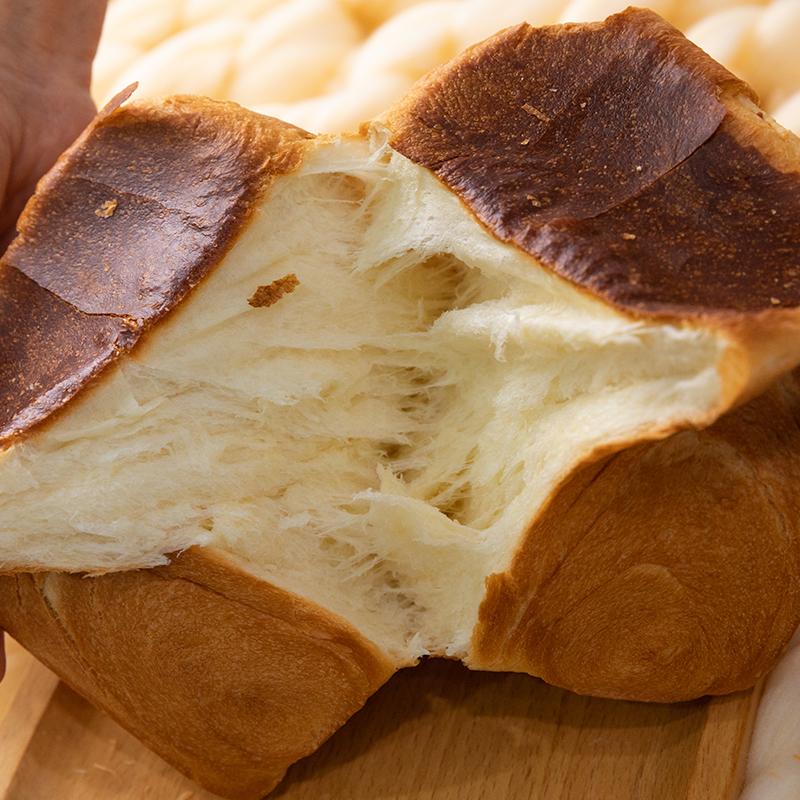 手工吐司面包奶香味手撕包网红营养早餐切片面包整箱450g土司包邮