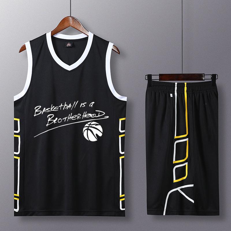 篮球服定制套装男队服运动透气速干印字个性球衣大学生比赛队服
