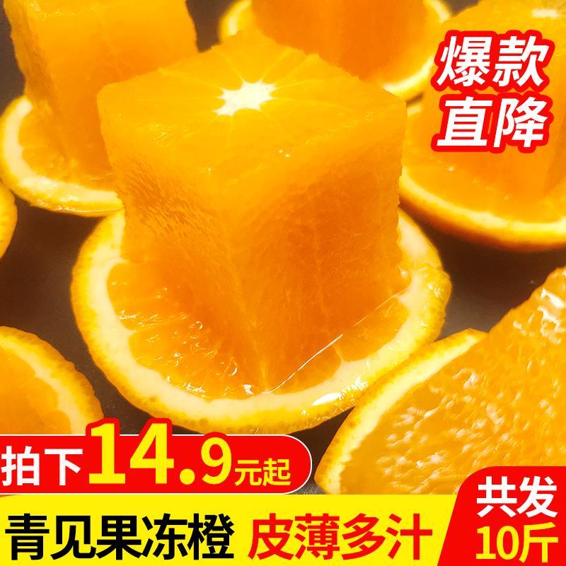 四川青见果冻橙新鲜青见柑橘现摘丑橘子孕妇水果桔子3/5/10斤包邮