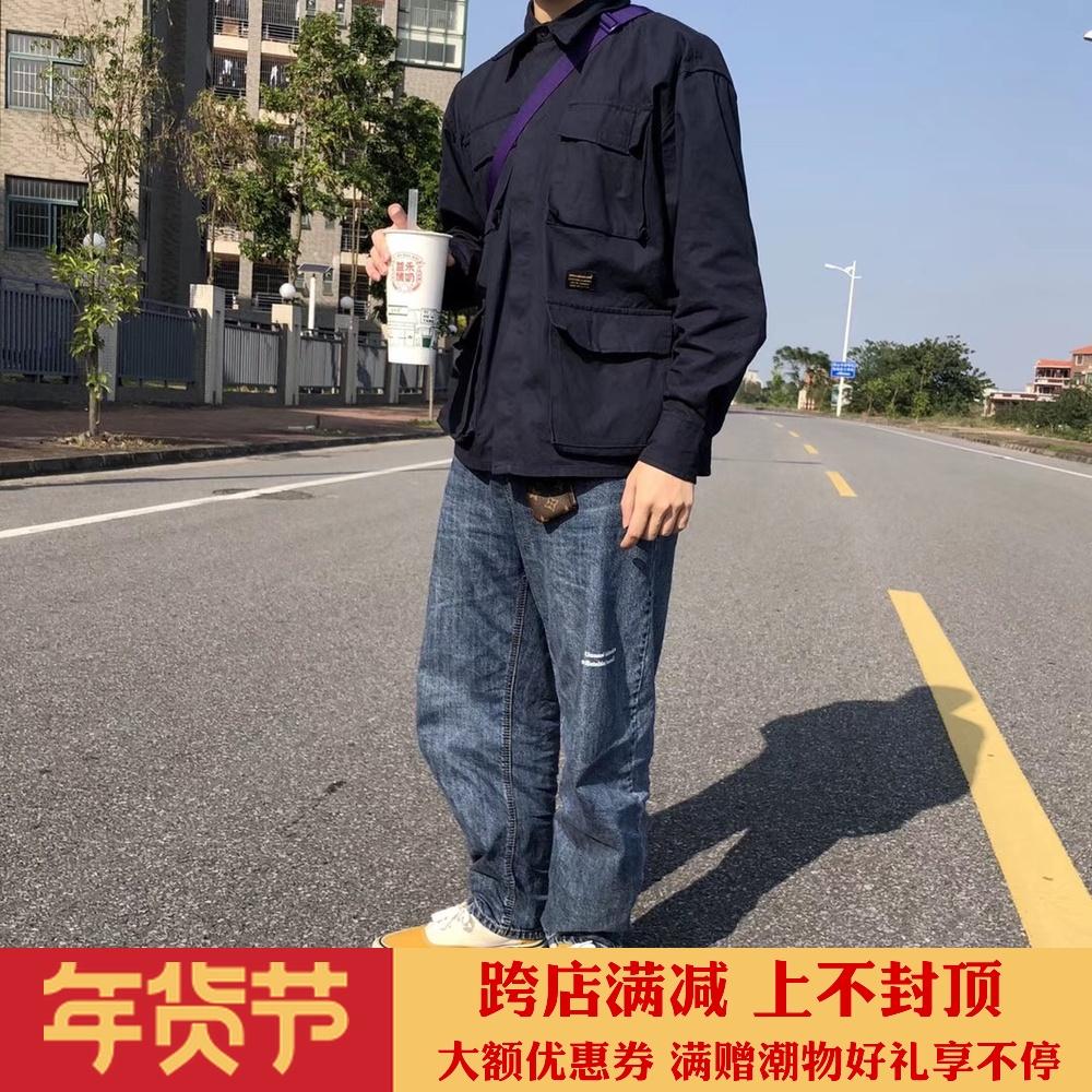 废克赛文| Unusual initiatoR军事日系工装 男女情侣夹克衬衫外套