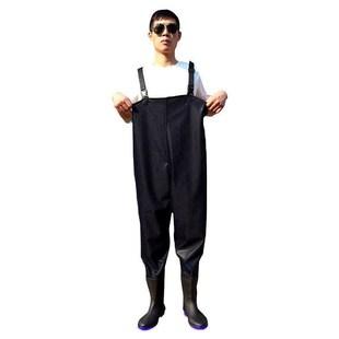 水库下超轻水裤半身轻便防电下水挖藕橡胶过膝捕捉高筒下水裤莲塘