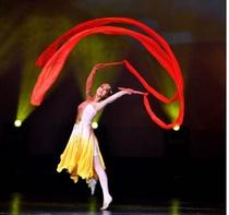 &道具表演舞台健身舞蹈装饰舞蹈红绸带古典国演中国表红经典儿庆